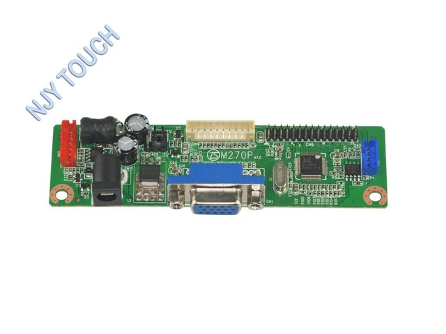 V. M70A VGA ЖК-Плата Контроллера Комплект для 14.1 дюймов 1024x768 CCFL CLAA141XD05 LVDS Монитор с 5-КЛЮЧ клавиатура Легко DIY Замена