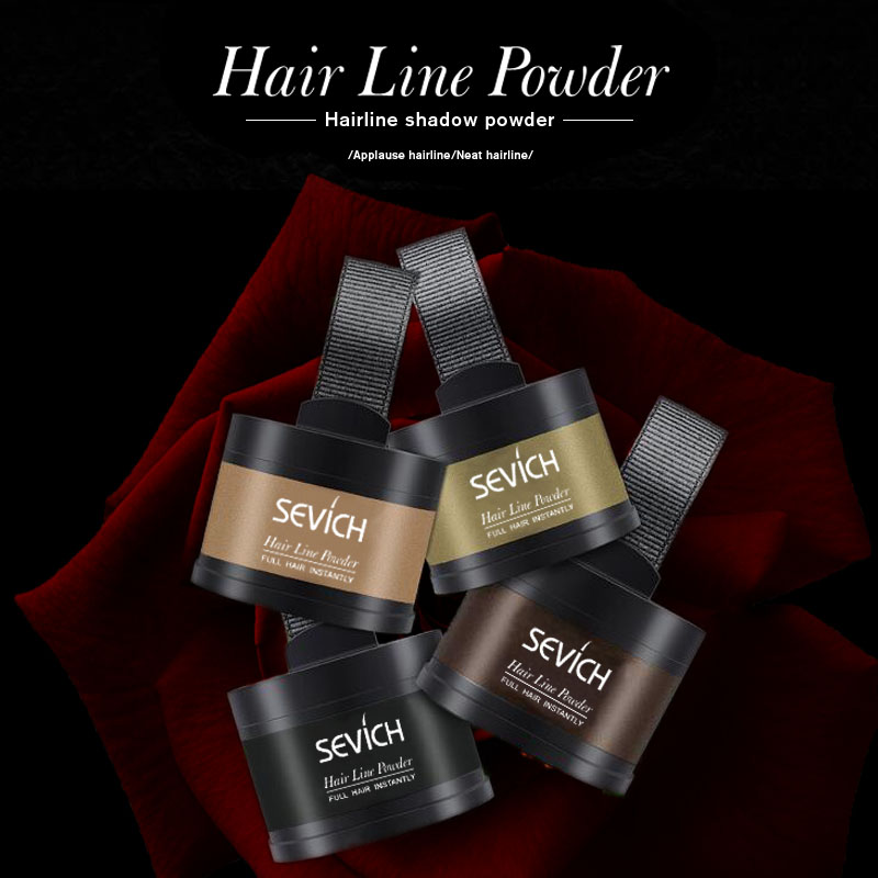 Water Proof hair line powder in hair color Edge control Hair Line Shadow Makeup Hair Concealer Root Cover Up Unisex Instantly 1