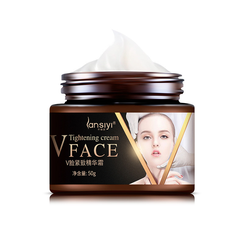 2019 Face Lifting Cream Burning Fat Shaping V Face Firming Skin Facial Slimming Cream Brighten Skin Color Face Tightening  Cream