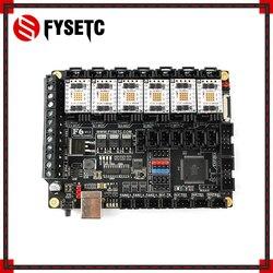 FYSETC F6 V1.3 carte tout-en-un Solution électronique carte mère + 6pc TMC5160 V1.2 SPI haute puissance moteur pas à pas pilote VS TMC2130
