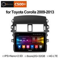 Ownice C500 + G10 Octa Core Android 8,1 автомобилей Радио dvd плеер 2 г ОЗУ 32 ГБ для Toyota Corolla 2009 2010 2011 2012 2013 поддержка 4G