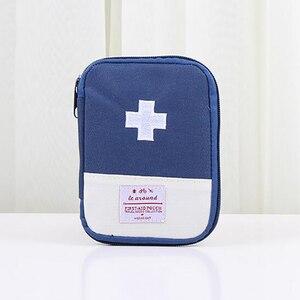 Image 5 - 1 adet ilk yardım çantası ilaç çantası taşınabilir seyahat paketi acil durum uyarı kitleri seyahat seti