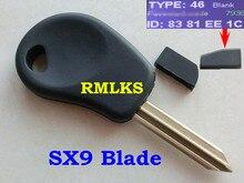 RMLKS Transponder Key With ID46 Chip Fit For CITROEN Picasso Elysee SAXO XSARA Remote Key Transponder Uncut SX9 Blade