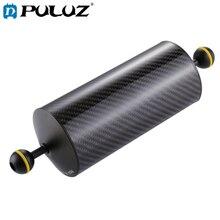 PULUZ ボールフローティング 10.8 インチ 27.5 センチメートルの長さ 80 ミリメートル直径デュアルボール炭素繊維フローティングアーム、ボール直径: 2.5 センチメートル