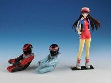 Figura in resina Kit 1/24 Cyber Formula Asuka Sugo Garage Figura In Resina Modello di Kit