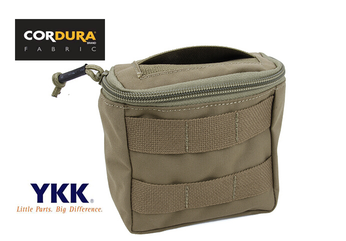 TMC EMT Medic Outdoor MOLLE Disposable Glove Pouch Matte Coyote Brown Free shipping SKU12050064