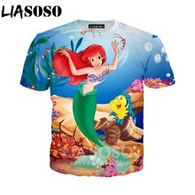 De Camisa Lotes Baratos Compra La Sirena T Pequeña Hombre lF1JKc