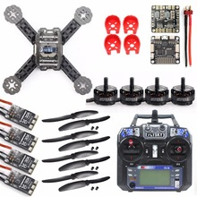 FEICHAO DIY Toys RC FPV Drone Mini Racer Quadcopter Kit 190mm SP Racing F3 Deluxe Flight Controller FS-I6 Remote Control