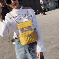 2018 NEW cute Clear Plastic See Through Transparent Backpack women girl student travel Bag satchel PVC School Book bag