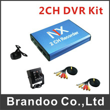 SD 128GB Card Recording Mobile Bus Vehicle Truck Car DVR Recorder System