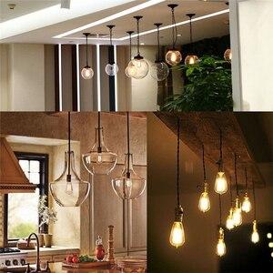 Image 5 - TSLEEN Vintage COB E27 LED lamba Edison Lampada LED ampul 110V 220V G45 A60 ST64 Filament ışığı 4W 8W 12W 16W Retro işık ampul