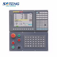 10.4 inch real color LCD displayer powerful CNC Controller 3 axis with DSP+FPGA