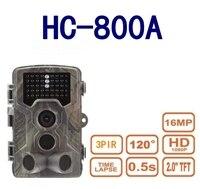 Suntekcam HC800A Hunting Camera 16MP 1080P Infrared LEDs Trail Cameras Wildlife Scouting Wild Cam Surveillance Tracking