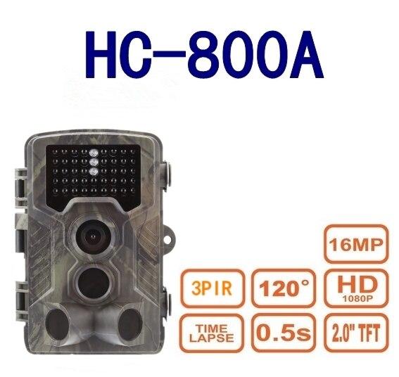 suntek HC - 800A Hunting Camera 42pcs Infrared LEDs Digital Trail Hunting Camera Wildlife Scouting Device Wild Cameras suntek ht002a wild animal scouting hunting cameras for hunter camerasfree shippping