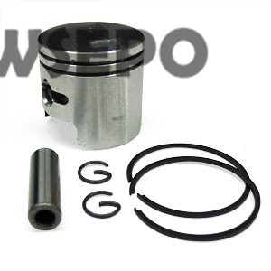 Chongqing Quality! Piston Kit(with Piton,Rings,clip,pin) for 152F 2.5HP 97CC/GX100 Gasoline Engine, 1KW Generator Spare Parts piston assy 68mm for honda gx200 6 5hp enges free shipping cheap kolben w rings wrist pin