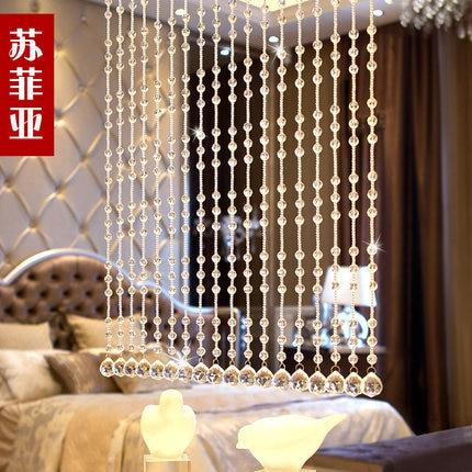 5 strun 32 32 sekce křišťálových korálků záclona dveře - Bytový textil