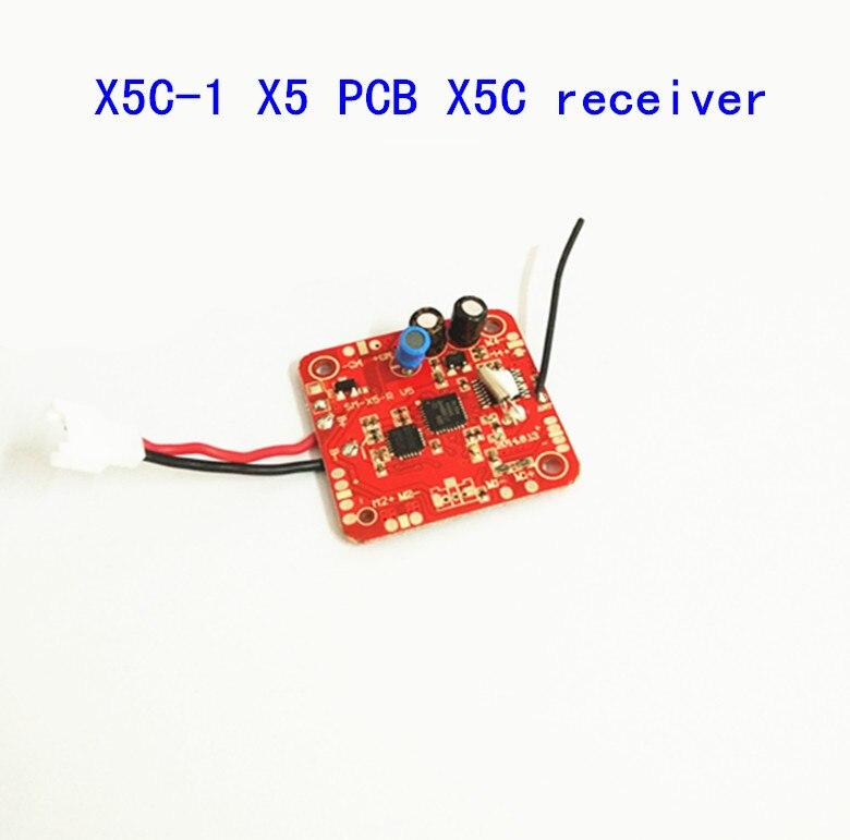 Syma X5C-1 X5CX5 2.4G 4CH 6-Axis RC peças de reposição Helicóptero rc Quadcopter Drone X5C-10 PCB Board/2.4G receptor/placa principal