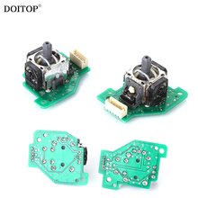 DOITOP 1Pair Replacement Repair Parts Left Right Joystick 3D Analog Stick PCB Board for Nintendo Wii