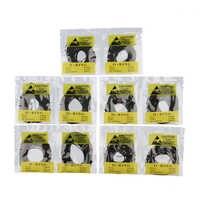 500 teile/satz 31-40mm Gummi O-Ring Uhr Zurück Abdeckung Dichtung Dichtungen Uhr Reparatur Teile