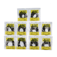 цены 500pcs/Set 31-40mm Rubber O-Ring Watch Back Cover Seal Gaskets Watch Repair Parts