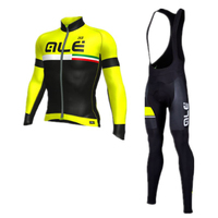 ALE Pro 2017 Men Cycling Jersey Long Sleeve MTB Bicycle Clothes High Quality Road Bike Maillot