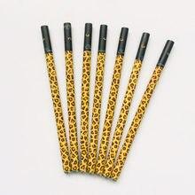 3x clássico leopardo gel caneta rollerball escola material de escritório estudante papelaria 0.38mm tinta preta