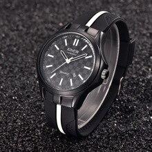 Hombre relojes 2016 marca de lujo Xinew Dail Reloj Militar Hombres de La Manera Ocasional de Los Deportes de Silicona Reloj de Cuarzo Reloj de Hombre relojes