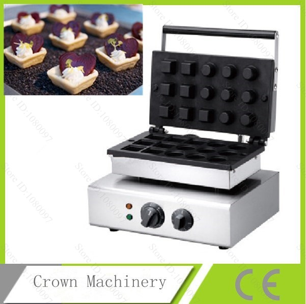 Ice Cream Cone Skin Mold Commercial Egg Tart Skin Making Machinetartlet Shell Maker Machine In