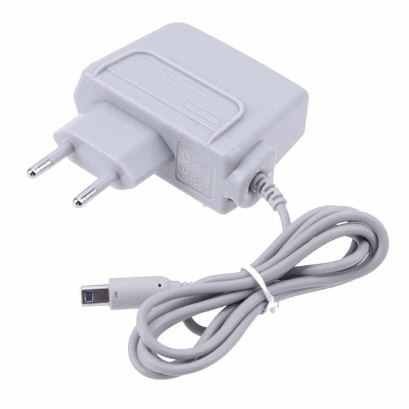 Новое настенное домашнее зарядное устройство адаптер питания шнур для nintendo 3DS XL зарядное устройство источник питания ЕС вилка
