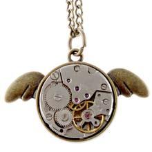 Steampunk Заявление Ожерелье Женщины Мужчины Механическая Подвеска Vintage Любовь Подарок Передач Ювелирные Изделия