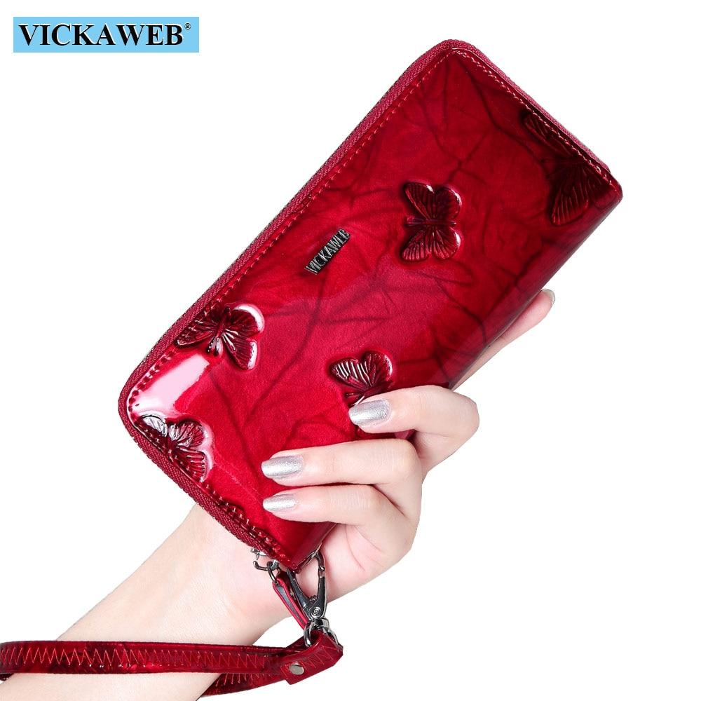 VICKAWEB Wristlet Wallet Female…