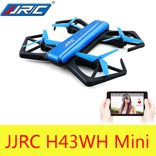 Jjr/c jjrc h43wh mini plegable RTF RC selfie drone BNF WiFi FPV 720 p HD drones Juguetes de control remoto Niño niños RC