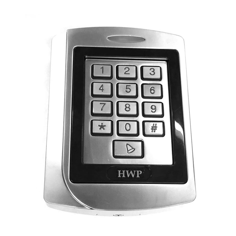 Metal keypad Metal access control 125KHz Standalone keypad WG26 input and output