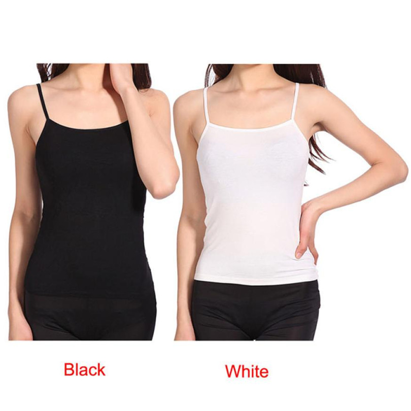 @ Durable drop shipping crop top women Modal Free Size Tank tops Sexy Women Loose Sleeveless Thin Spaghetti Strap Vest