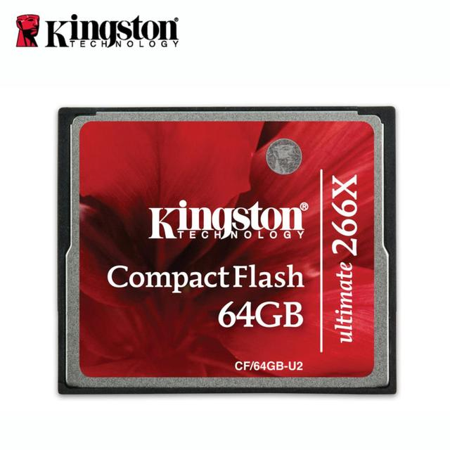 Kingston cf card 266x compact flash  memory cards 16gb 32gb 64gb compactflash cf tarjeta cf kaart brand cartao memoria Elite Pro