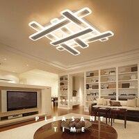 Новый светодио дный светодиодный потолочный светильник современный Windows Форма Акриловый светодиодный потолочный светильник для гостиной