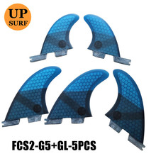 fcs2 g5/gl tri-quad 5 fins sets surfboard fins stand up fcs 2 water sports fcs ii fins quilla surf stand up paddle fin stand up антона борисова