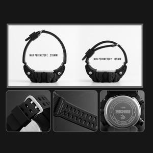 Image 5 - SKMEI S הלם צבאי ספורט שעונים מצפן מד צעדים קלוריות זכר שעון דיגיטלי עמיד למים אלקטרוני שעונים גברים שעוני יד