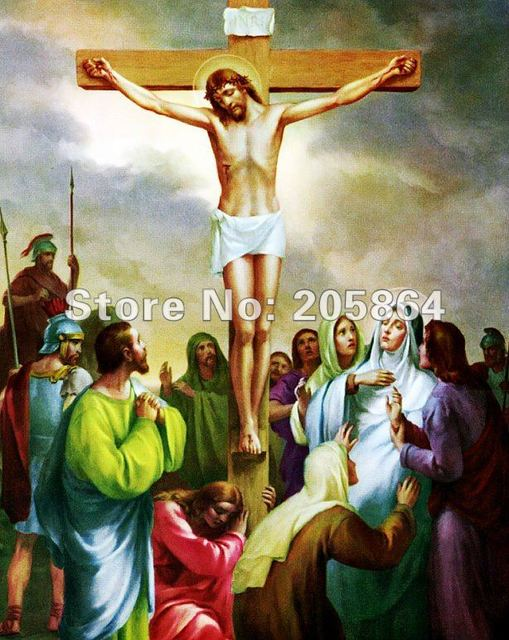 Free shipping tapestry wall hangings,Christ fabric picture ...
