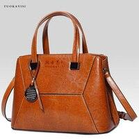 Новинка 2018 женские кожаные сумки Элегантные бренды Сумка повседневная женская сумка тоут женская сумка на плечо большая сумка мессенджер