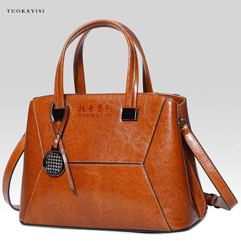 Leather Handbags Big Women Bag High Quality Casual Female Bags Trunk Tote Fashion Brand Shoulder Bag ladies handbags new women leather handbags shoulder bag women s casual tote bag female patchwork handbags high quality main ladies hand bags