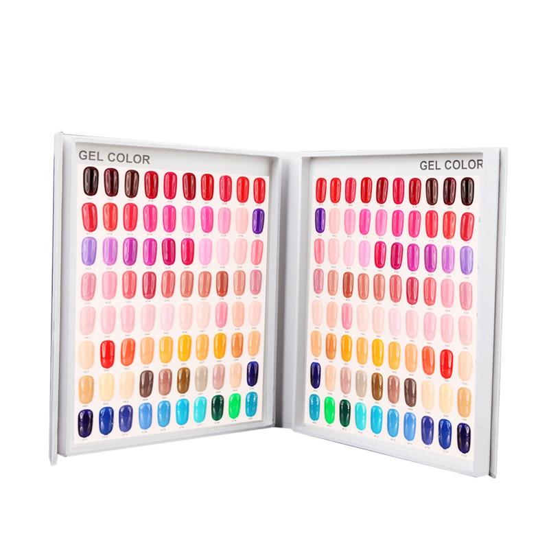 Mostruário para Esmaltes Gel 120 Cores para Salão de Beleza, Manicure