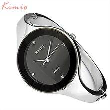 2016 Nouvelle Mode Kimio Montres mujer Montre-Bracelet Bracelet À Quartz montre Femme Dames Montres Horloge Femelle Robe Relogio Feminino