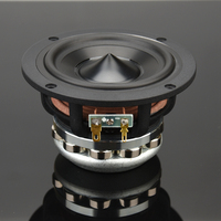 HIFIDIY LIVE hifi 4.7 inch 4.5'' 120mm Pure Midrange Full frequency speaker unit 6OHM 50W midbass loudspeaker M4 120N
