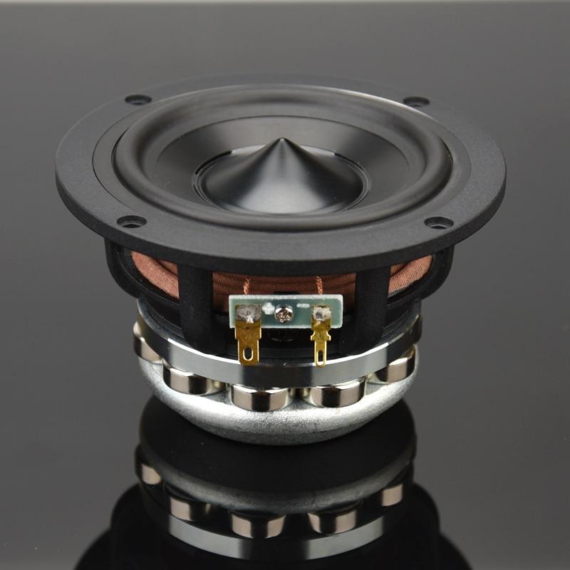 HIFIDIY LIVE Hifi 4~6.5Inch120/153/182mm Pure Midrange Full Frequency Speaker Unit 8OHM 50W100W 120W Midbass Loudspeaker M4/5/6N
