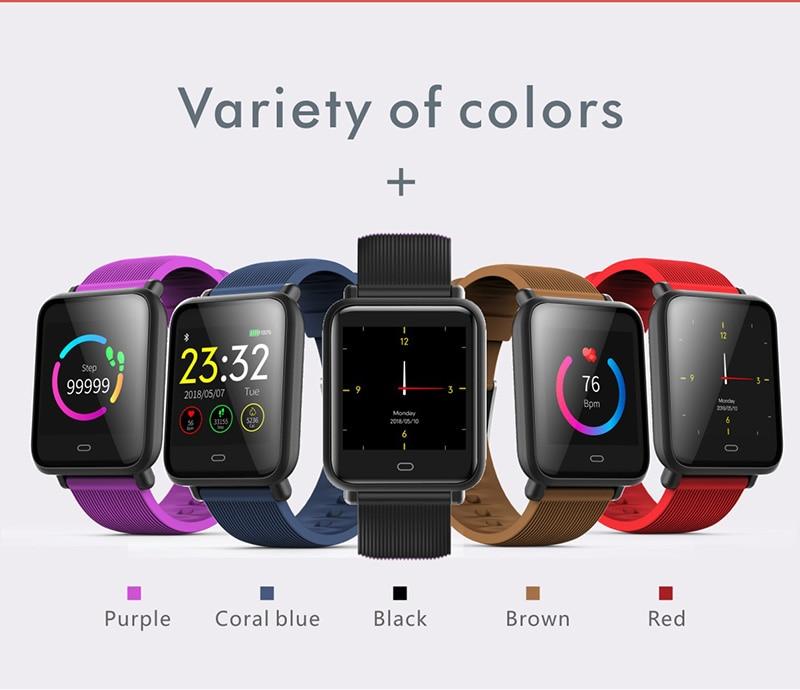 VERYFiTEK Q9 Color Screen Sport Smart Watch Blood Pressure Heart Rate Monitor IP67 Waterproof Smartwatch Men Women Fitness Watch (4)