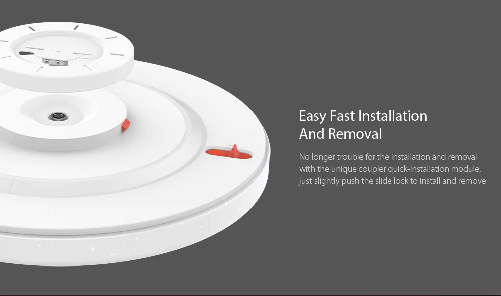 HTB1SrZ.kIuYBuNkSmRyq6AA3pXam Mijia Yeelight Ceiling Light Pro 450/480/650mm Remote APP WIFI Bluetooth Control Smart LED Color IP60 Dustproof Ceiling Lamp