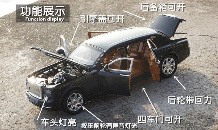 Rolls Royce Phantom Model Car with Sound and Lights 8