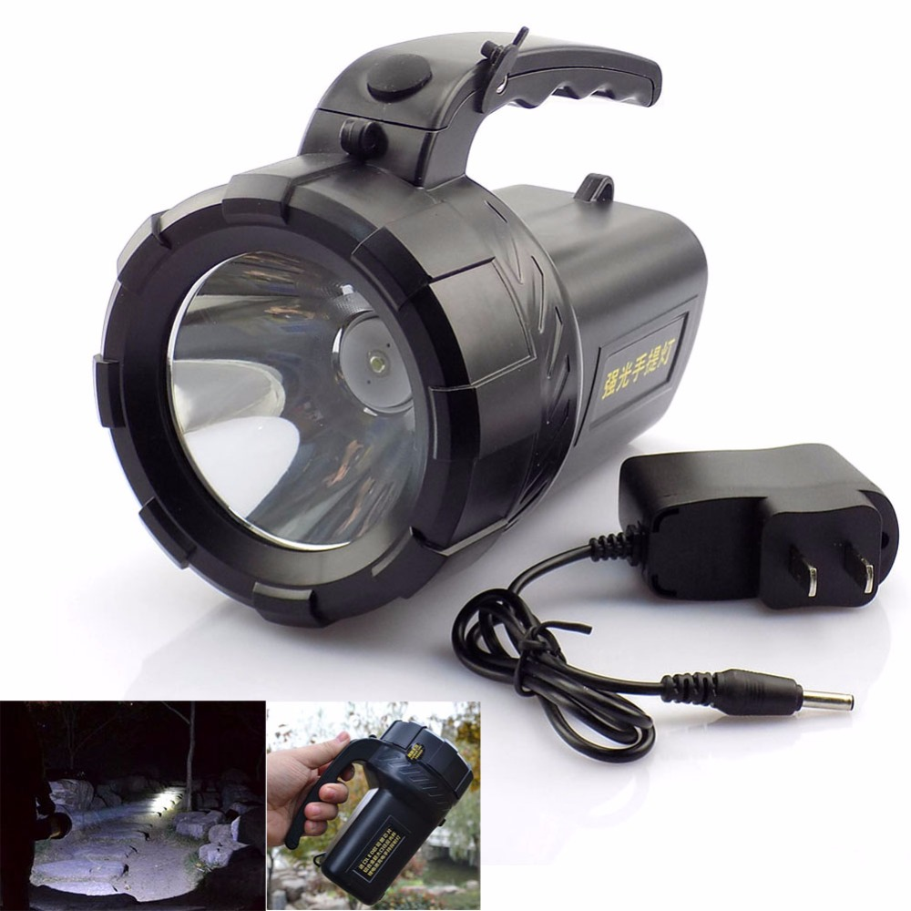 LED Working Light Flexible Neck Flashlight Metal Battery Powered Small Torch  UK