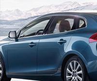 12pcs Stainless Steel Full Window Sill Stripes Surrounding Trim For Volvo V40 Hatchback 2013 2014 2015 2016